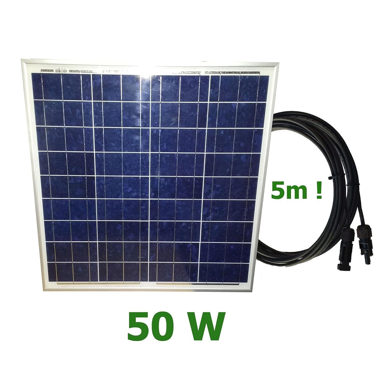 VIASOLAR Kit 50W PRO 12V Pannello Solare