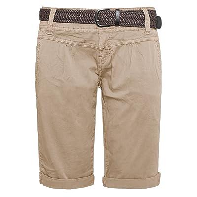 Fresh Made Pantalons d été bermudas pour les femmes  51ea667abbb