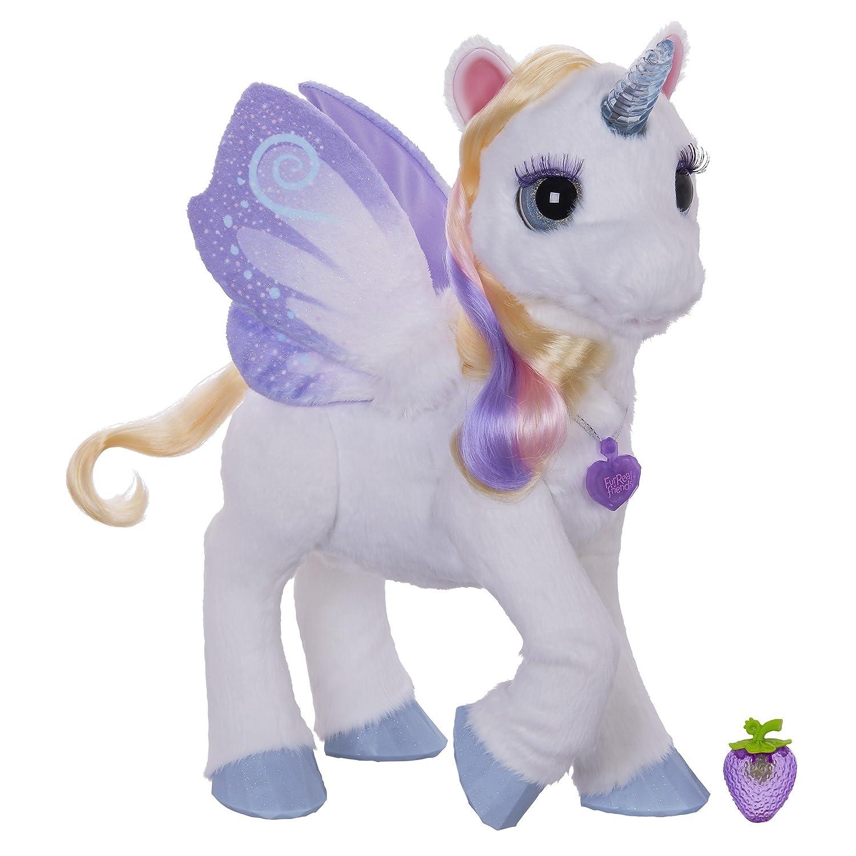Furreal Friends B04501010 - Peluche a forma di unicorno magico Starlily [Francia] Hasbro European Trading B.V