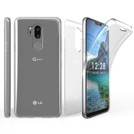 best sneakers 1d53f b2d14 Amazon.com: LG G7 ThinQ Case, LG G7 Case, 360 Full Body Protection ...