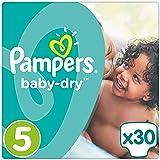 Pampers Baby-Dry Windeln Gr. 5 (11-23 kg), 1er Pack (1 x 30 Stück)