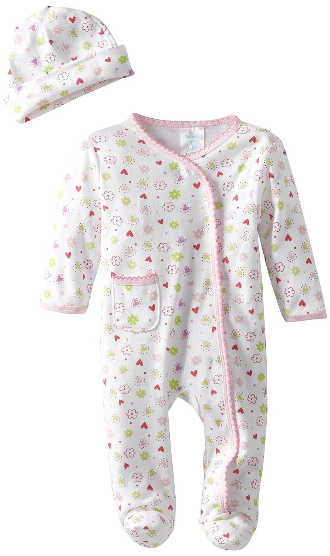 c703460d2 SpaSilk Baby Newborn Sleepwear Two-Piece Set  Amazon.co.uk  Clothing