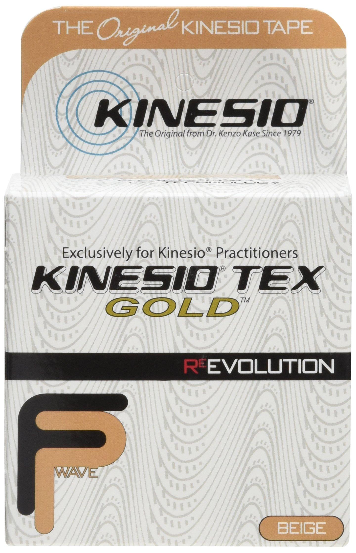 Kinesio Kinesiology Tape - 2'' x 16.4' - Beige - pack of 3