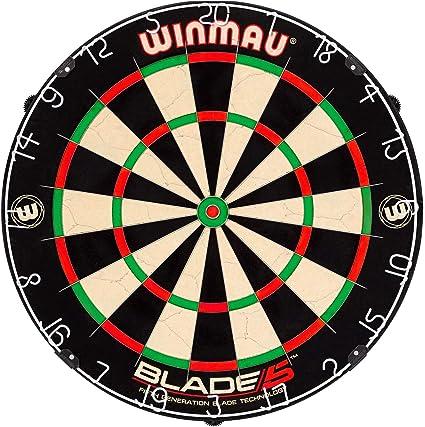 WINMAU Blade 5 Bristle Dartboard Diana 4 Pelos: Amazon.com.mx ...