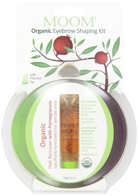 MOOM Moom Organic Eyebrow Shaping Kit 0.6 Ounce MEK