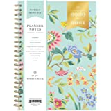 """Day Designer for Blue Sky 2020-2021 Academic Year Weekly & Monthly Planner Notes, Flexible Cover, 5.8"""" x 8.6"""", Climbing Flora"""