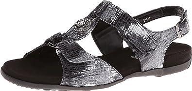 Vaneli Women's Nerine Multi Black Blix Print Sandal 6 M ...