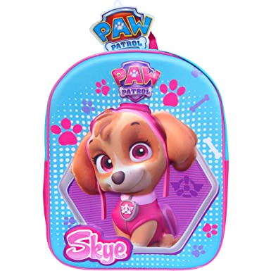 a42bc5c5582e Image Unavailable. Image not available for. Colour  Disney PAW Patrol Skye  Magic 3D Travel Backpack School Bag