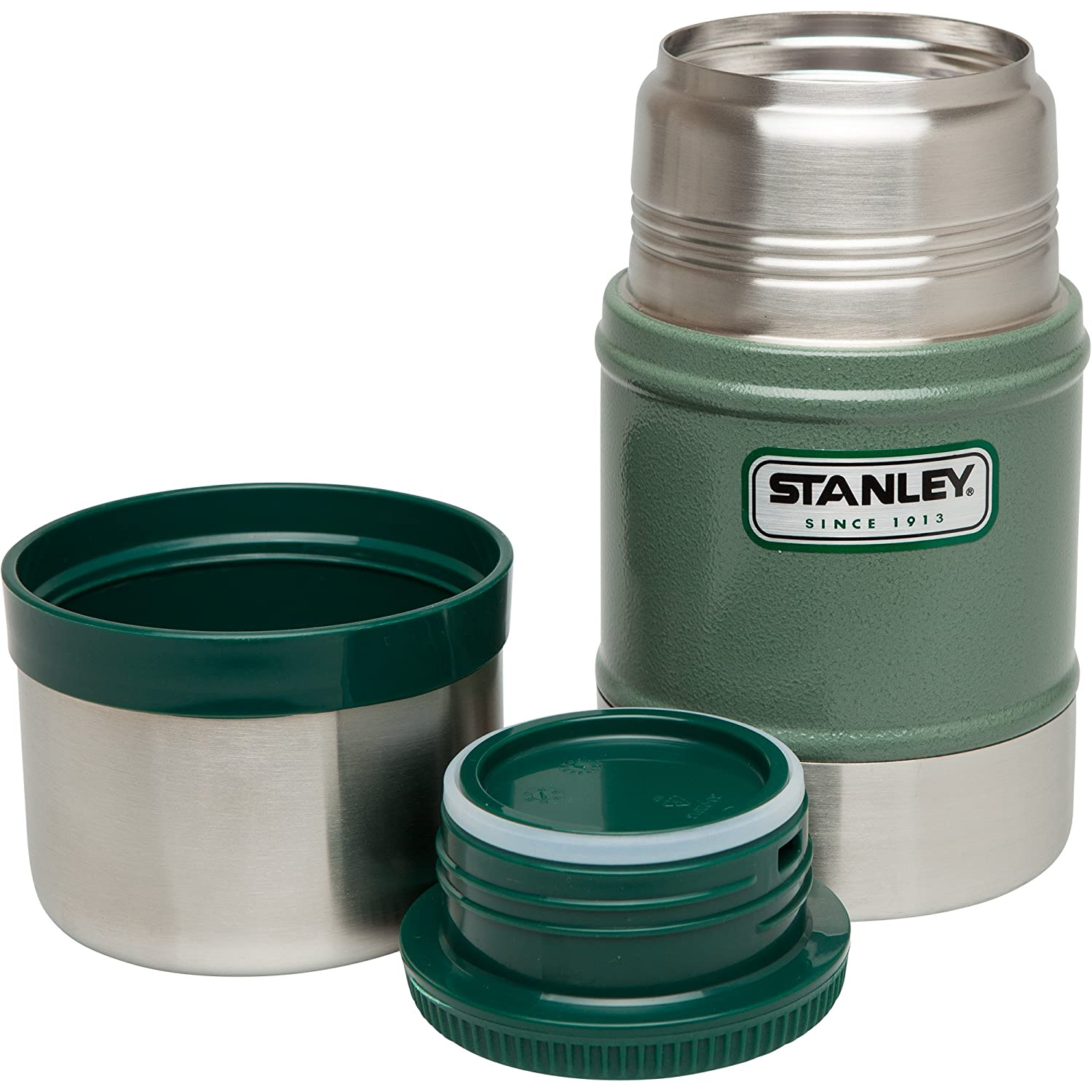 Stanley Legendary Classic Vacuum Food Jar 0 41 Liter Double Wall Vacuum  Insulation 18/8 Stainless Steel Insulated lid Leak Proof Packable  Unbreakable