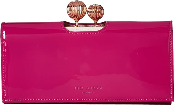 a3b8bf8b36a80b TED BAKER WOMAN S ETCHED BOBBLE PATENT LEATHER PURSE KIMMIKO BLACK ...