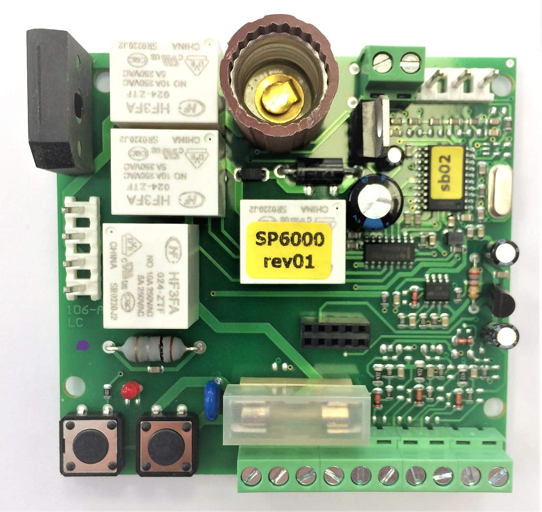 Nice SPA40 - Central de control de placa electrónica de motor ...