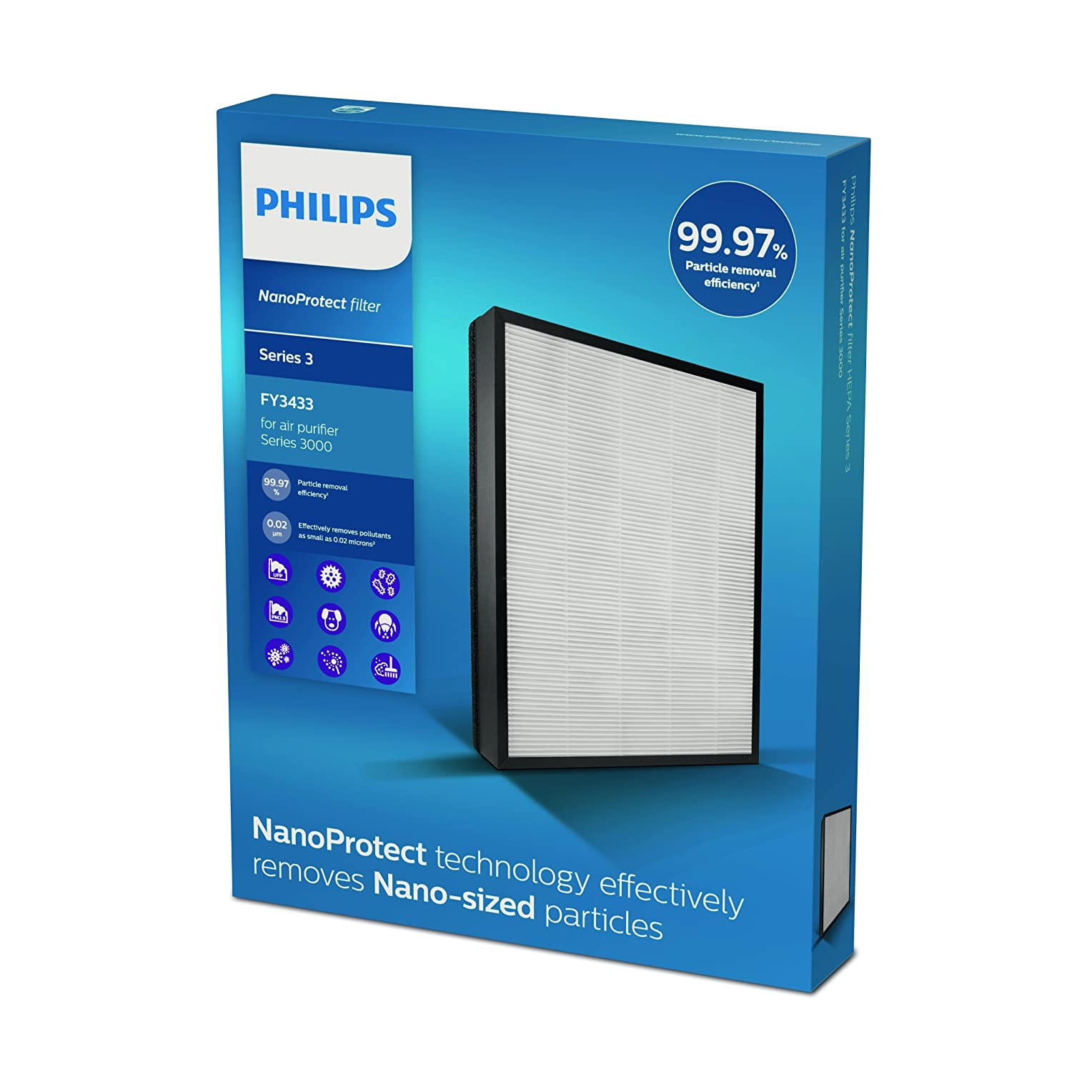 Philips FY3433/10 Nano Protect Hepa Filter