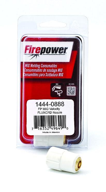 Firepower 1444-0888 Mig Velocity Flux Core Nozzle (4-(Pack))