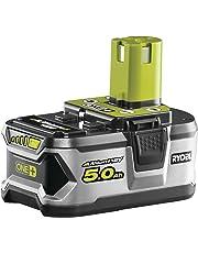 Ryobi RB18L50 ONE+ Lithium+ 5.0Ah Battery, 18 V