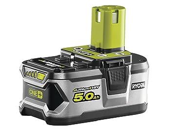 Ryobi One Plus RB18L50 5,0 Ah batería de litio: Amazon.es: Bricolaje y herramientas