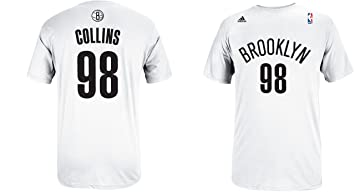 32f78d2749e Amazon.com : Jason Collins Brooklyn Nets Jersey Name and Number T ...
