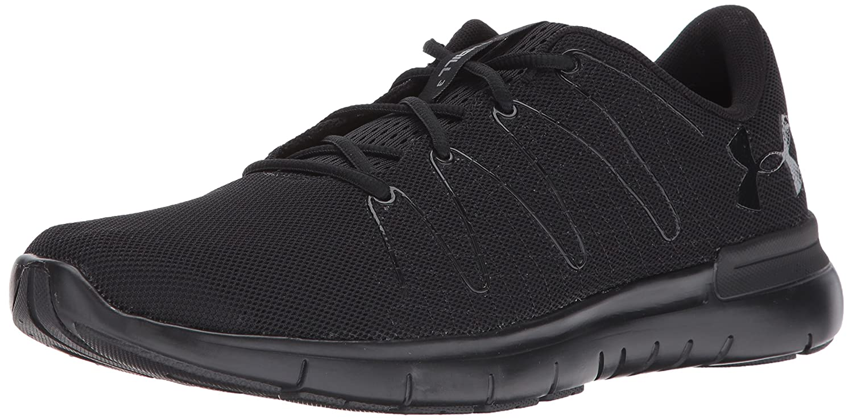 Under Armour UA Thrill 3, Zapatillas de Running para Hombre 47 EU|Negro (Black/ Black/ Black 003)