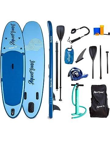 52d64b103bf AQUAPLANET 10ft ALLROUND Paddle board - Beginner s Kit. Air Pump With  Pressure Gauge,Adjustable.  1