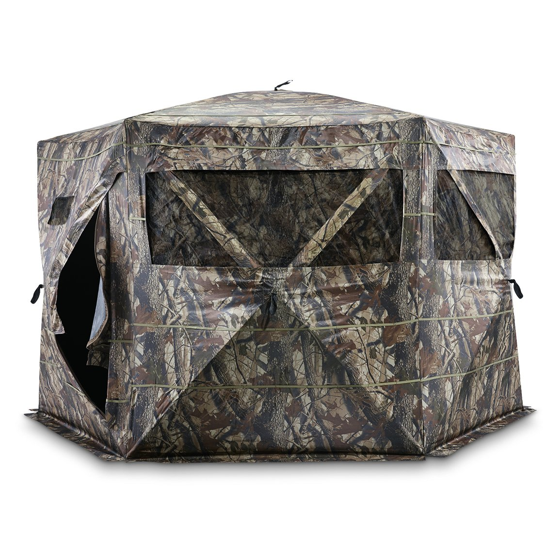 Guide Gear 6-Sided Hub Ground Hunting Blind