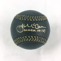 $99 » James McCann Signed Autographed Black Rawlings Baseball with Beckett COA - Gold Ink - New York Mets Catcher