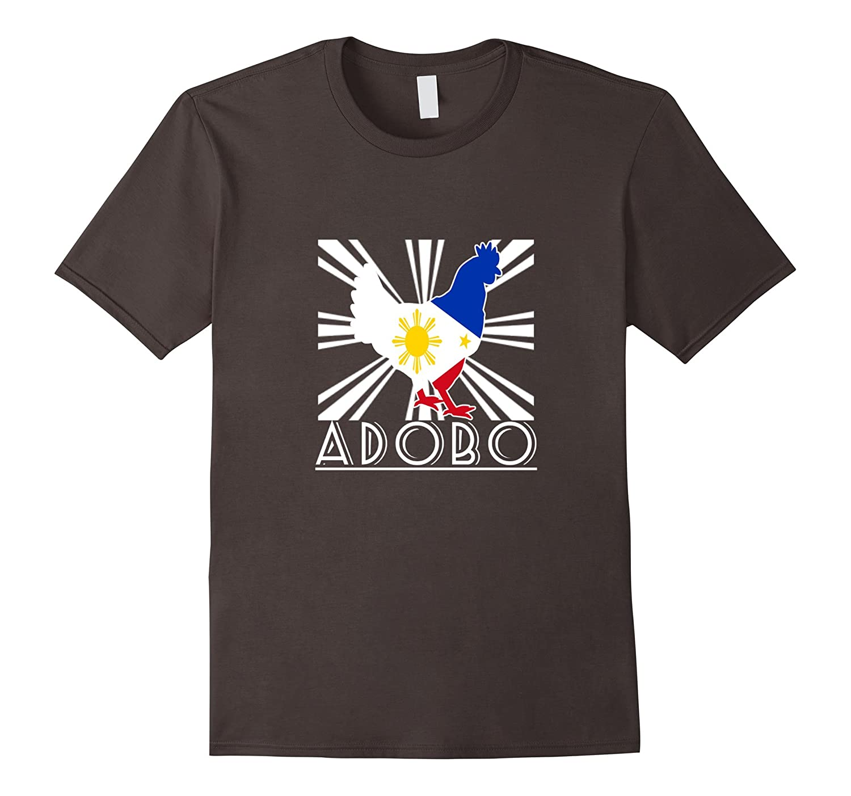 Funny Pinoy Chicken Adobo T-shirt – Filipino Novelty Gift