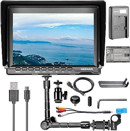 Neewer Nw759 7 Zoll Kamera Feld Monitor Kit 1280x800 Kamera