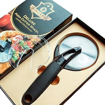 Vinzard Best Deluxe Professional Pizza Cutter Wheel