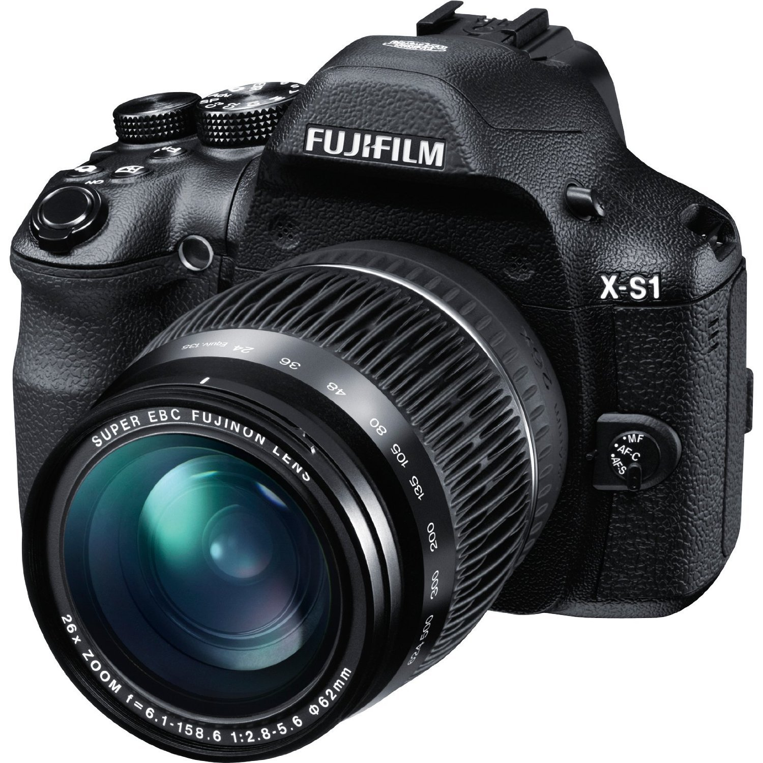 Amazon.com : Fujifilm X-S1 12MP EXR CMOS Digital Camera with Fujinon F2.8  to F5.6 Telephoto Lens and Ultra-Smooth 26x Manual Zoom (24-624mm) : Point  And ...
