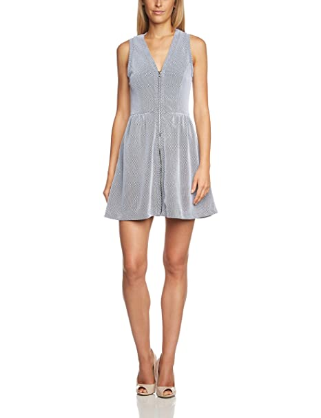 s.Oliver 41.503.82.2159 - Vestido para mujer, color grau (as original 0009), talla 40/M