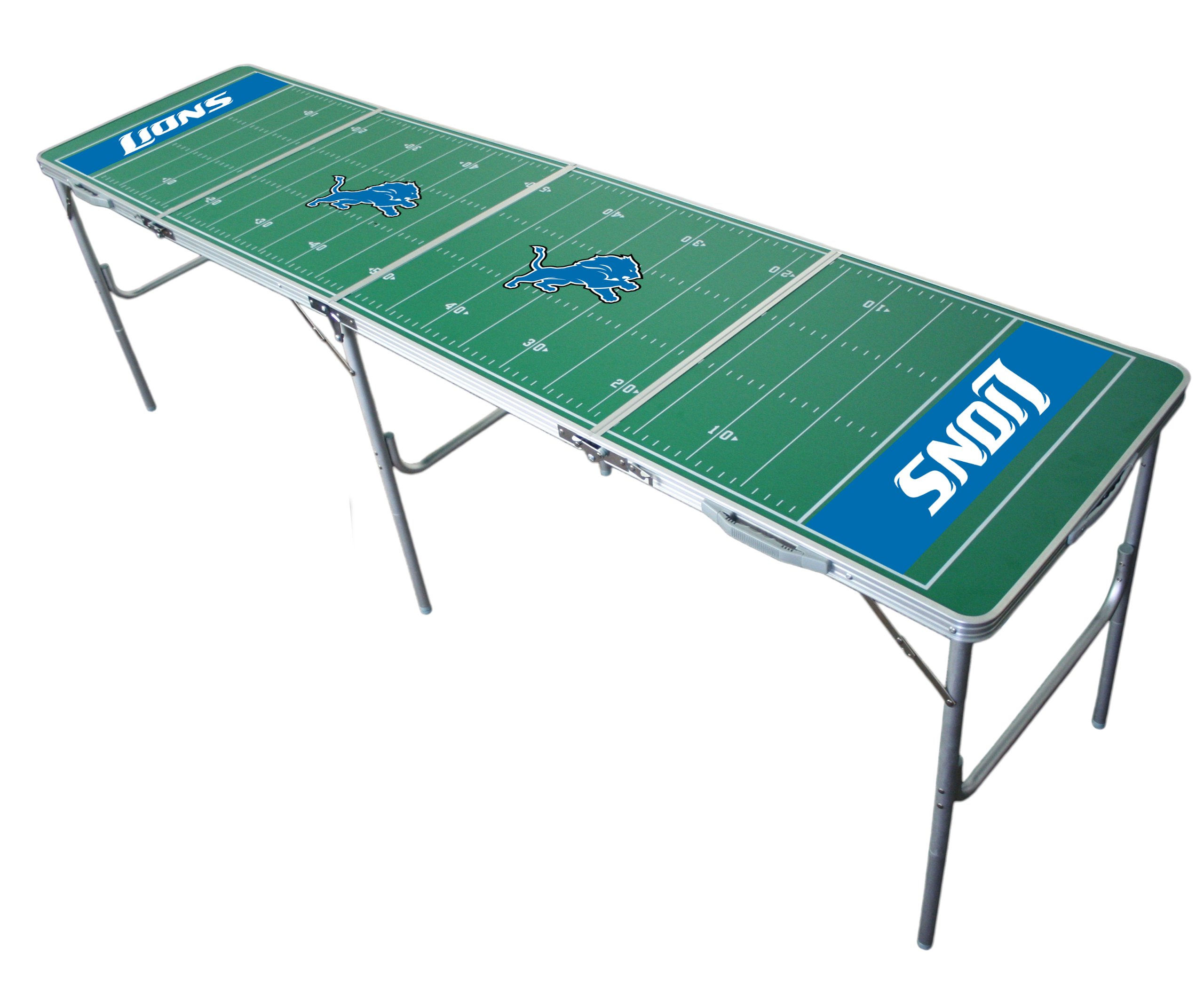 Detroit Lions 2x8 Tailgate Table by Wild Sports by Wild Sports