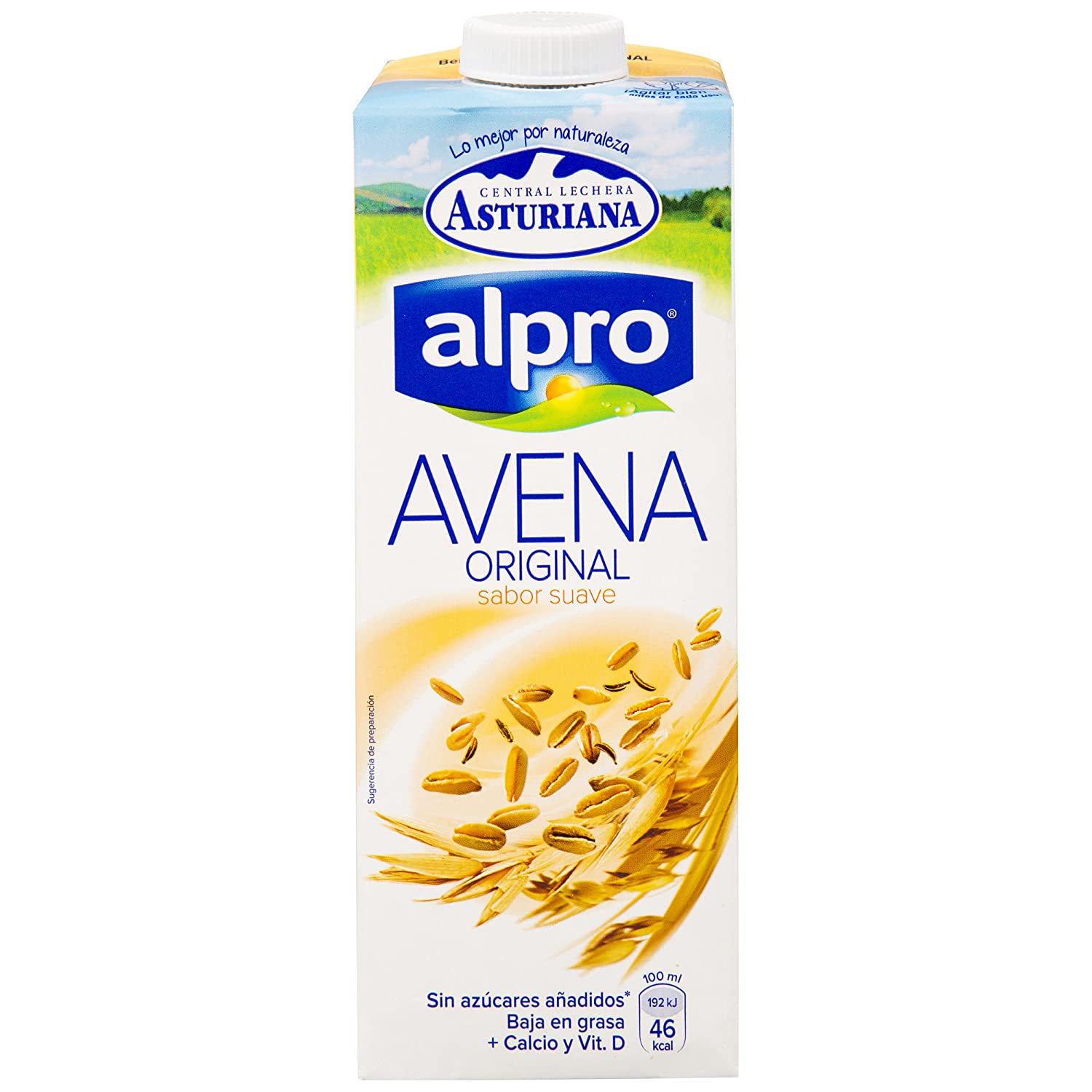 Alpro Central Lechera Asturiana Bebida de Avena - Paquete de 6 x 1000 ml - Total: 6000 ml: Amazon.es: Amazon Pantry