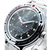 Vostok Amphibian New 420270/ 2416b Russian Military Divers Automatic Mens Watch 200m