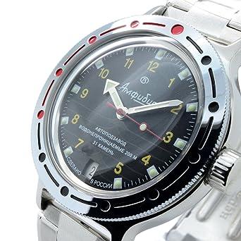 Amazon.com  Vostok Amphibian New 420270  2416b Russian Military ... 9557897101
