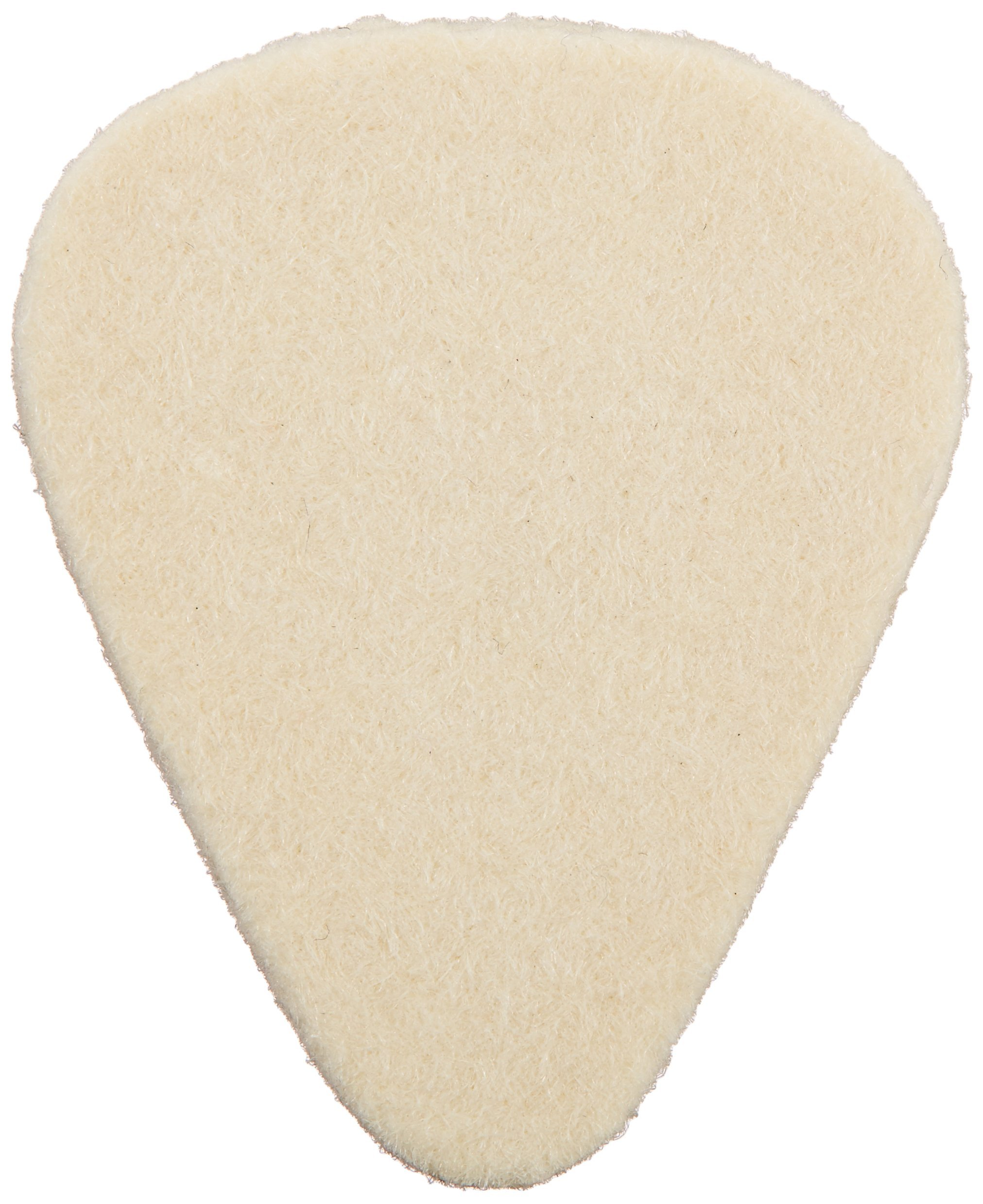 Dunlop 8011 Felt Picks Nick Lucas, Natural, 3.2mm, 12/Bag