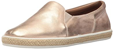 Aerosoles Women's Fun Fact Fashion Sneaker, Bronze Leather, ...