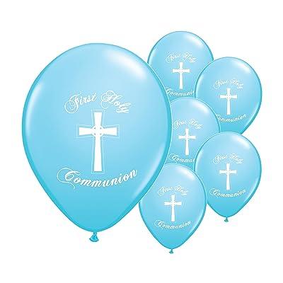 10x première communion 30,5cm à l'hélium Ballons nacrés
