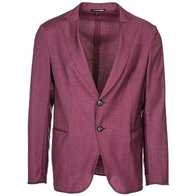 a5b51b09d0d9 Emporio Armani Veste Homme Bordeaux 50 EU  Amazon.fr  Vêtements et  accessoires