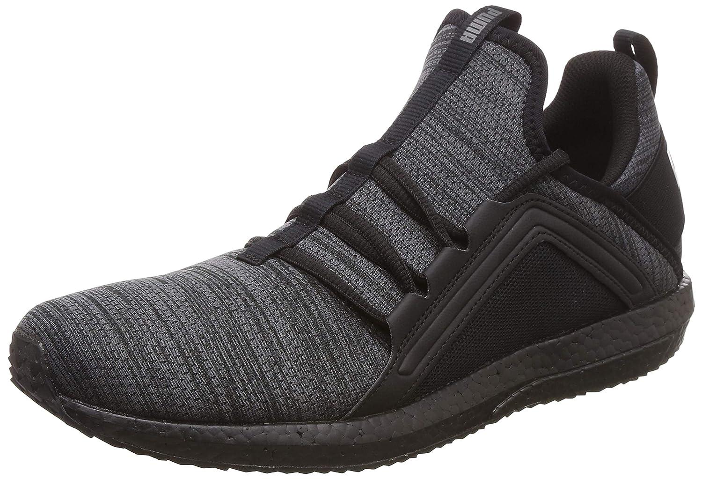 Puma Men's Mega NRGY Heather Knit Iron Gate Bl Running Shoes