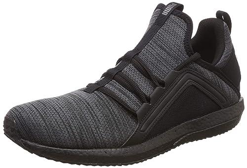 191095 03 Mega NRGY Heather Knit Herren Sneaker Mesh Sockenkonstruktion