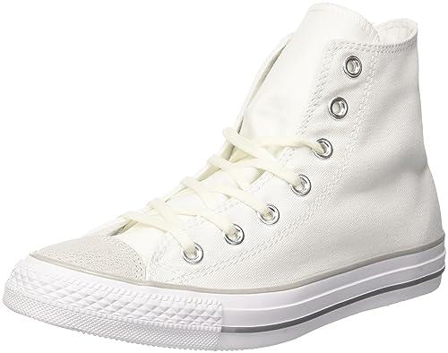 Converse Chuck Taylor CTAS Hi Canvas, Zapatillas de Deporte para Mujer: Amazon.es: Zapatos y complementos