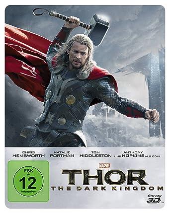 Thor The Dark Kingdom Steelbook Blu Ray 2d Blu Ray 3d Limited