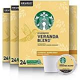 Starbucks Veranda Blend Coffee K-Cup Pods | Blonde Roast | Coffee Pods for Keurig Brewers | 4 Boxes (96 Pods)
