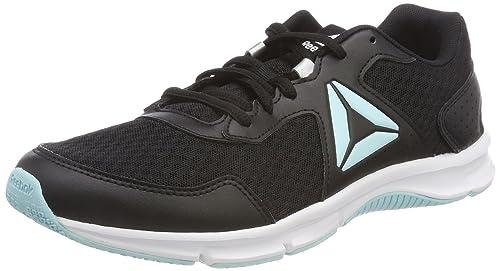 Express Runner, Zapatillas de Running para Mujer, Negro (Black/Ash Grey/Sour Melon/White), 37 EU Reebok