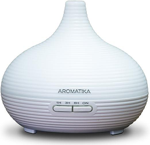difusor de Aceite Esencial para beb/és Zumo de Dormir 300 ml 7 Cambios de Color difusor de Aromas ultras/ónico Humidificador Hawkimin difusor LED