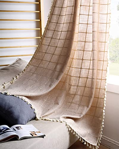 Cheap YoKii Boho Curtains window curtain panel for sale