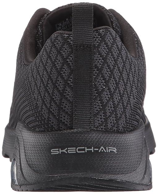 Skechers Sport Women's Skech Air Extreme Awaken Fashion Sneaker,Black,6.5 M US