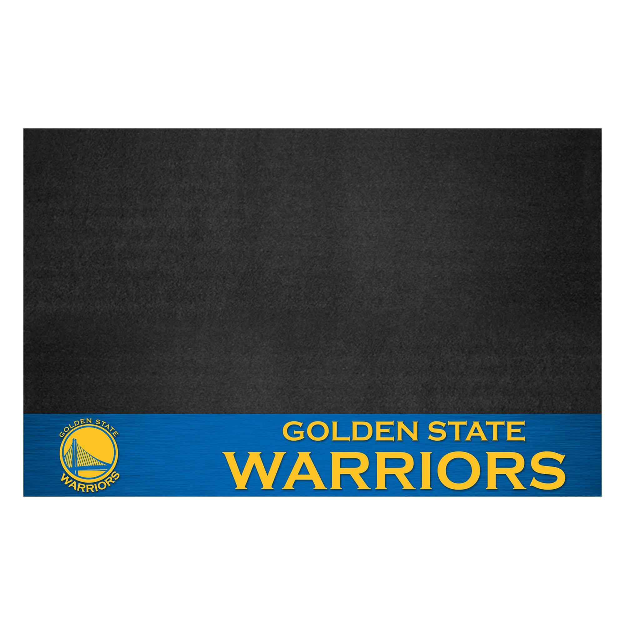 Fanmats 14204 NBA Golden State Warriors Grill Mat