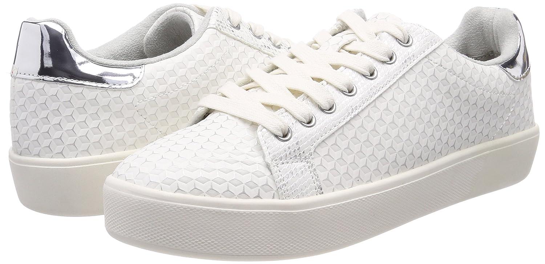Tamaris Damen 23724 Niedrig-Top Sneakers Weiß (Offwht. (Offwht. (Offwht. Struc.) 6ad2a1