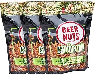 product image for BEER NUTS Cantina Mix - Grab Bag - 20 oz. Resealable Bag (Pack of 3), Original Peanuts, Chili Lemon Roasted Corn, Black Bean Sticks, Guacamole Bites