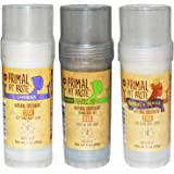 Primal Pit Paste Natural Deodorant Pack of 3 Lavender Happy Pits and Royal and Rogue